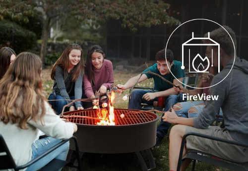 Přenosné ohniště pro grilování s přáteli