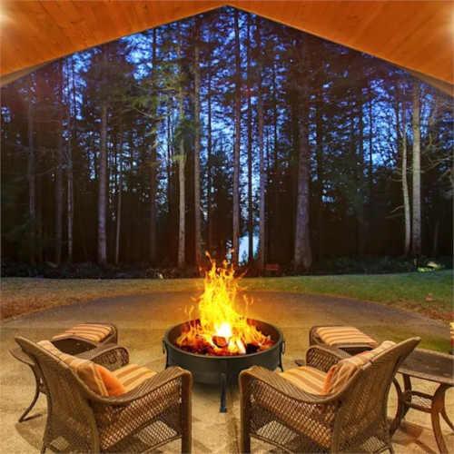 ohniště zahradní 2v1