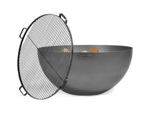 praktické provedení kovového ohniště
