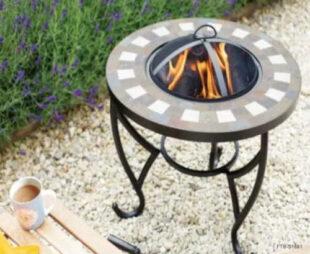 Přenosné ohniště v moderním designu