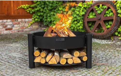 ohniště kovové z černé oceli