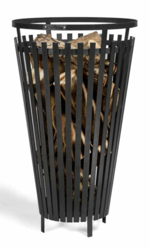 Přenosné ohniště koš Flame výška 76 cm